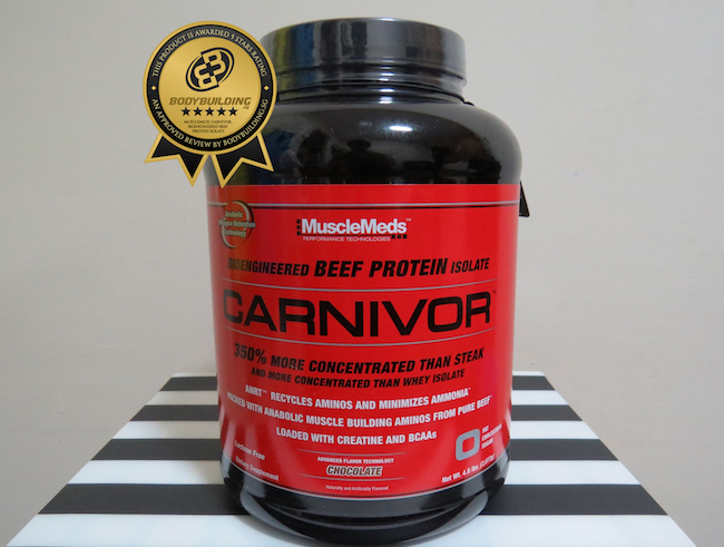 Musclemeds Carnivor Beef Isolate Protein İnceleme ve Yorum