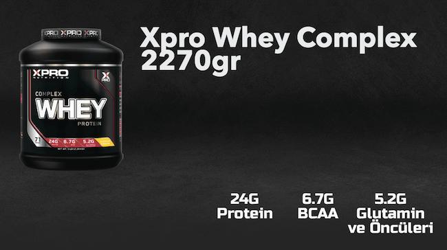 xpro whey complex protein inceleme ve yorum