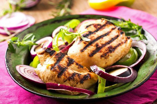 protein içeren yiyecek hindi göğsü