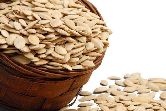 protein içeren yiyecek kabak çekirdeği