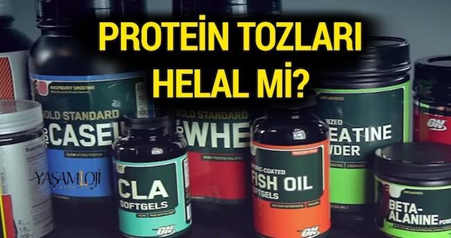 protein tozu helal mi