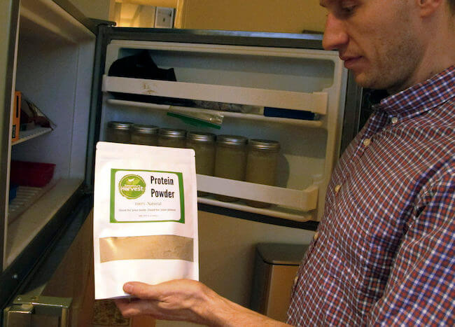 protein tozu buzdolabında saklanır mı
