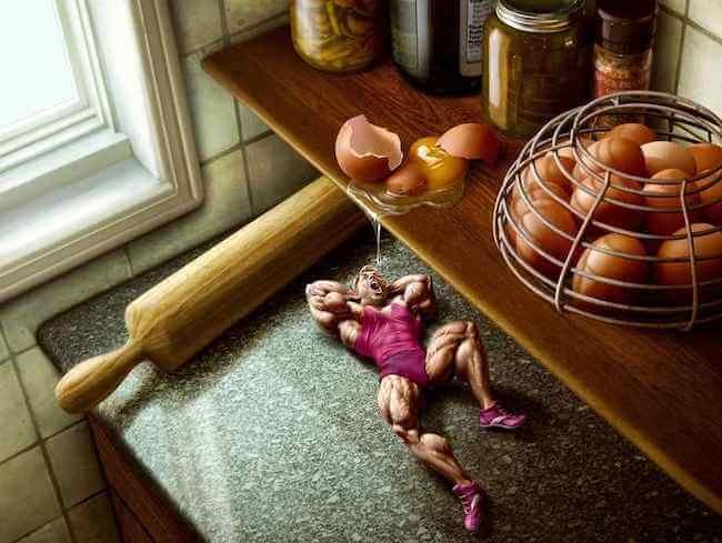 protein tozu mu yumurta mı