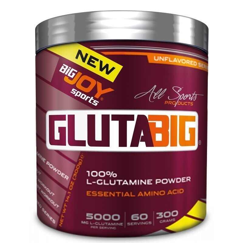 Big Joy Gluta Big %100 Glutamine Powder