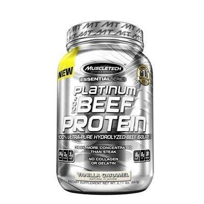Muscletech Essential Series Platinum %100 Beef Protein