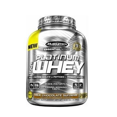 Muscletech Essential Series Platinum %100 Whey