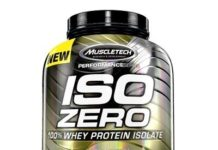 Muscletech Iso Zero % 100 Whey Protein Isolate