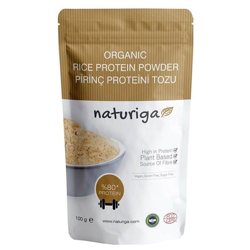 Naturiga Organik Pirinç Proteini Tozu