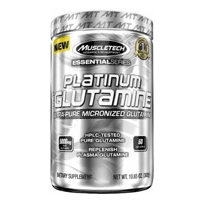 Muscletech Essential Series Platinum %100 Ultra-Pure Micronized Glutamine