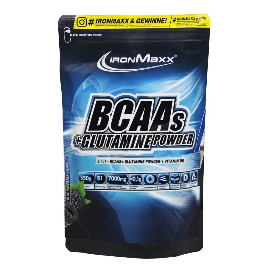 IronMaxx BCAAs+Glutamine Powder