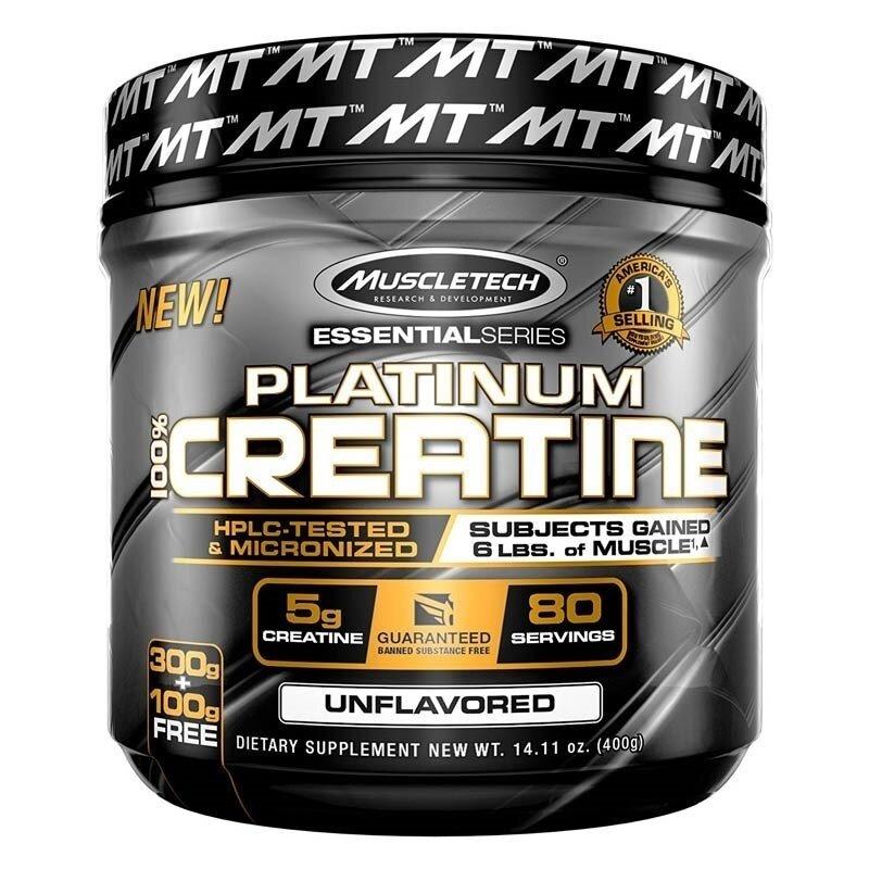 Muscletech Essential Series Platinum %100 Micronize Creatine Powder